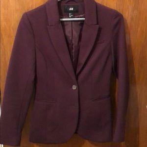 Jackets & Blazers - Maroon blazer